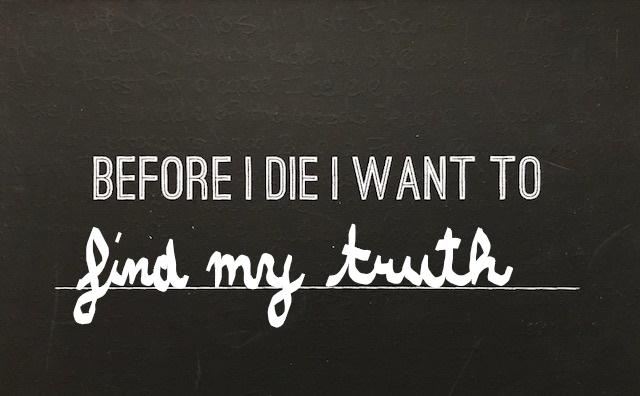 Before I Die….