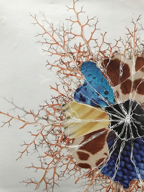 Botanically Inspired Collage